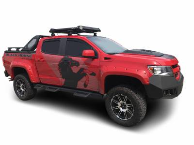 Black Horse Off Road - J | Vigor Roll Bar | Black | W/ LED Cube Light | VIRB05B - Image 5