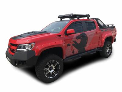 Black Horse Off Road - J | Vigor Roll Bar | Black | W/ LED Cube Light | VIRB05B - Image 2