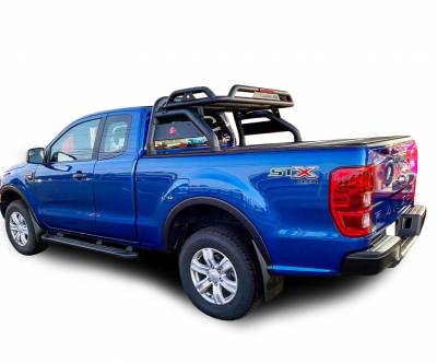 Black Horse Off Road - J | Atlas Roll Bar | Black | Tonneau Cover Compatible |  ATRB10BK - Image 3