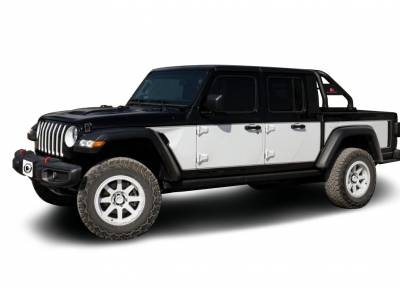 Products - Roll Bars - Black Horse Off Road - J | Classic Roll Bar | Black | Tonneau Cover Compatible | RB09BK