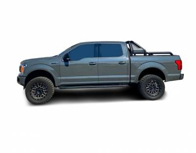 Products - Roll Bars - Black Horse Off Road - J | Gladiator Roll Bar | Black | Compabitle With Most 1/2 Ton Trucks | GLRB-01B
