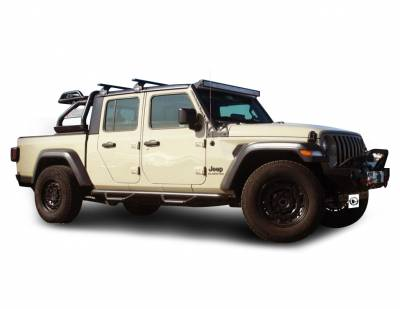 Products - Roll Bars - Black Horse Off Road - J | Atlas Roll Bar | Black | ATRB9BK