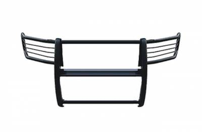"Black Horse Off Road - D | Grille Guard Kit| Black | With Set of 7"" Black LED - Image 4"