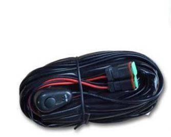 """Black Horse Off Road - D   Grille Guard Kit  Black   With Set of 7"""" Black LED - Image 20"""