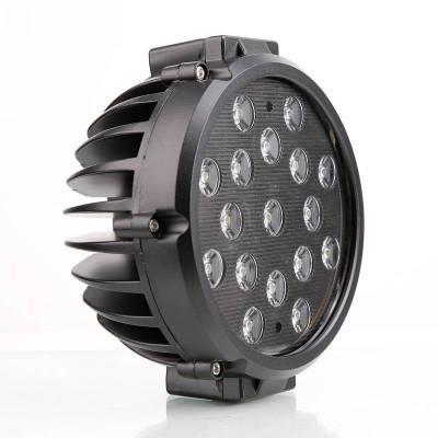 """Black Horse Off Road - D   Grille Guard Kit  Black   With Set of 7"""" Black LED - Image 14"""