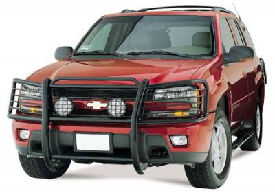 Front End Protection - Grille Guards - Black Horse Off Road - D | Grille Guard | Black | 17GD26MA