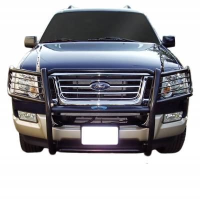 Front End Protection - Grille Guard Kit  - Black Horse Off Road - D | Grille Guard Kit | Black | 17A047600MA