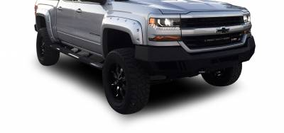 Black Horse Off Road - B | Armour Front Bumper | Black | AFB-SI16 - Image 5