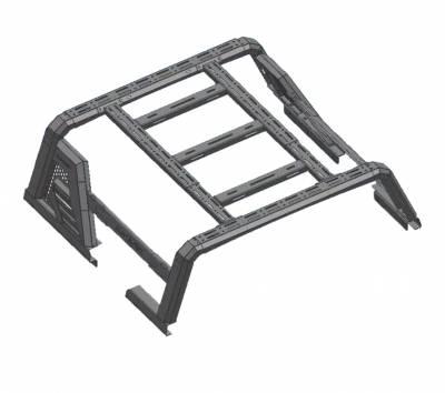 Black Horse Off Road - J   Armour II Roll Bar W/ Basket   Black   AR2-01BA1 - Image 7
