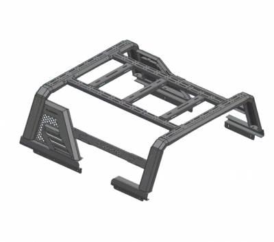 Black Horse Off Road - J   Armour II Roll Bar W/ Basket   Black   AR2-01BA1 - Image 9