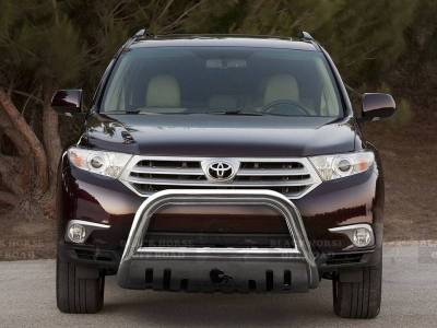 Black Horse Off Road - A | Bull Bar | Stainless Steel | Skid Plate | CBS-TYF5307SP - Image 1