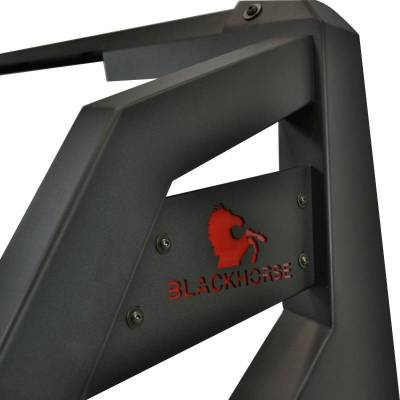 Black Horse Off Road - J | Armour Roll Bar | Black | Compabitle With Most 1/2 Ton Trucks | RB-AR1B - Image 9