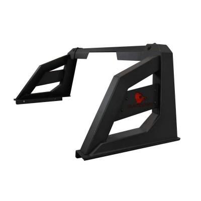 "Black Horse Off Road - J | Armour Roll Bar Kit | Black | with 7"" Black Round LED Lights | RB-AR1B-PLB - Image 9"