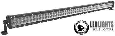 Black Horse Off Road - J | Classic Roll Bar Kit | Black| Includes 50in LED Light Bar | Tonneau Cover Compatible|RB006BK-KIT - Image 7